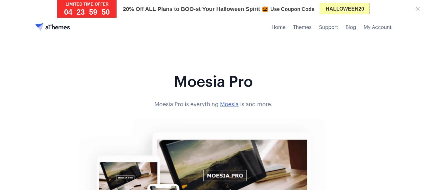 Moesia Pro wordpress theme