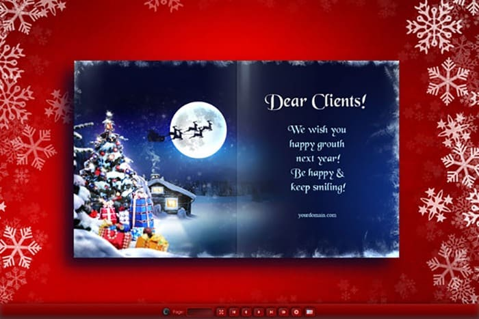 Sending your clients a christmas card or gift 2017 client e cards m4hsunfo
