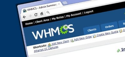 WHMCS billing system