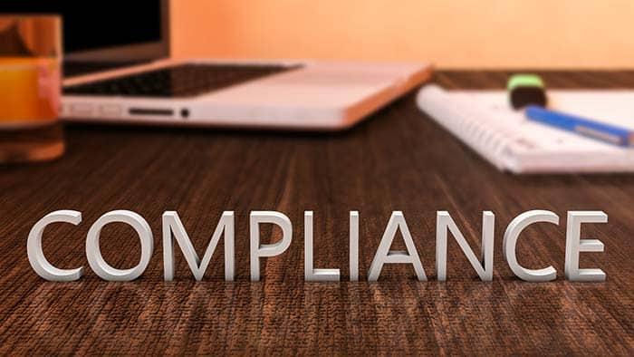 Disclosure compliance