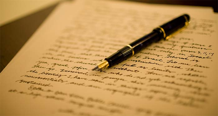 Pen and Paper - Letter of intent