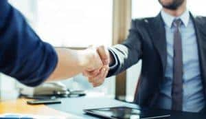 Deal done, Hands Shaking