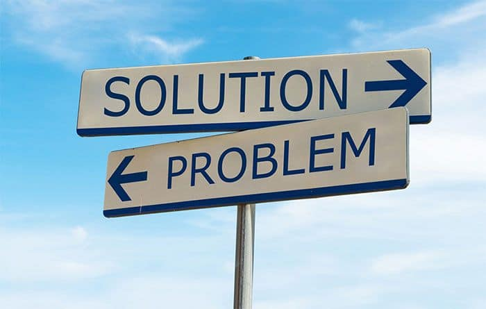 Present a solution to a problem