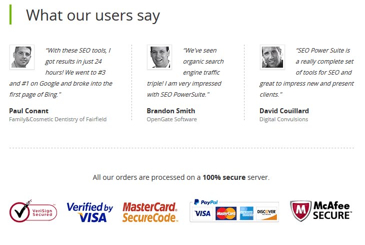 Seo powersuite testimonial
