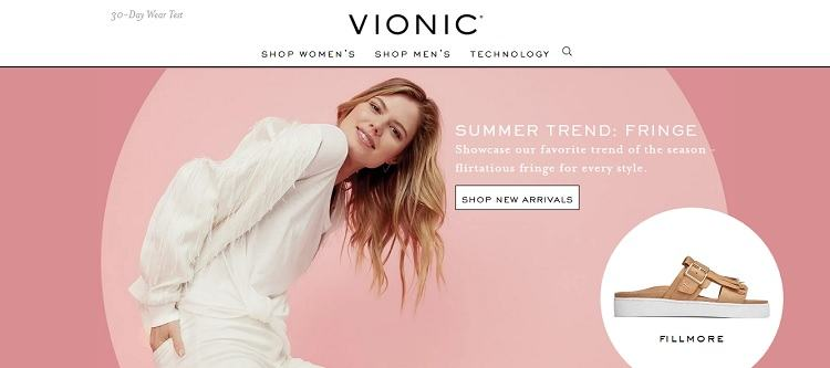 Vionic Shoes logo