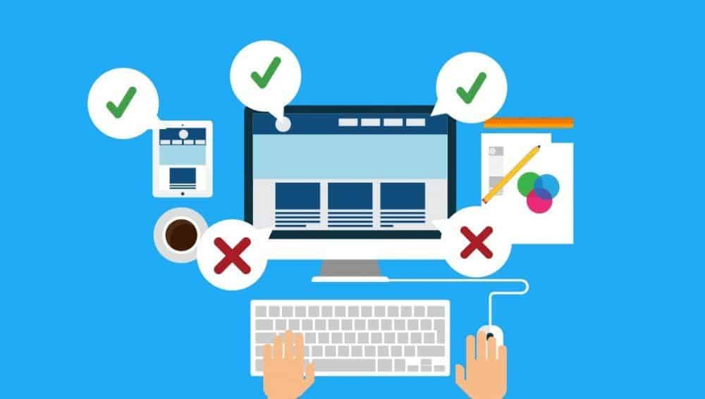 Small business web design mistakes