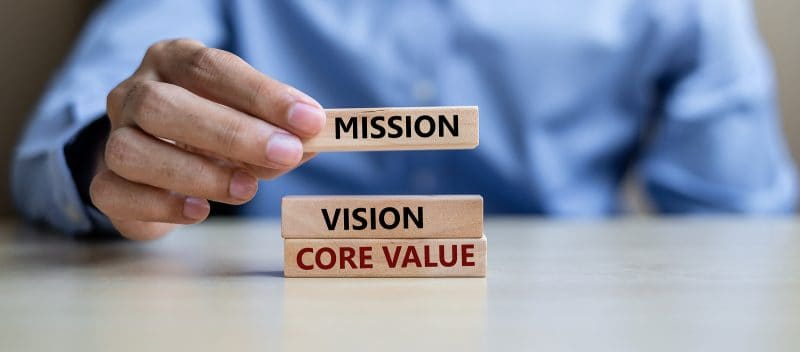 core values for a business