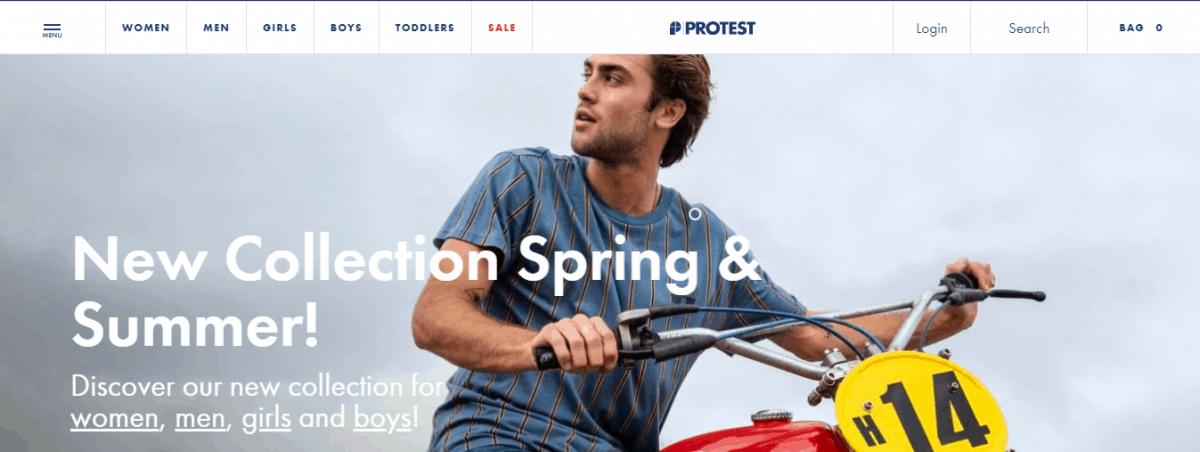 protest sportswear website