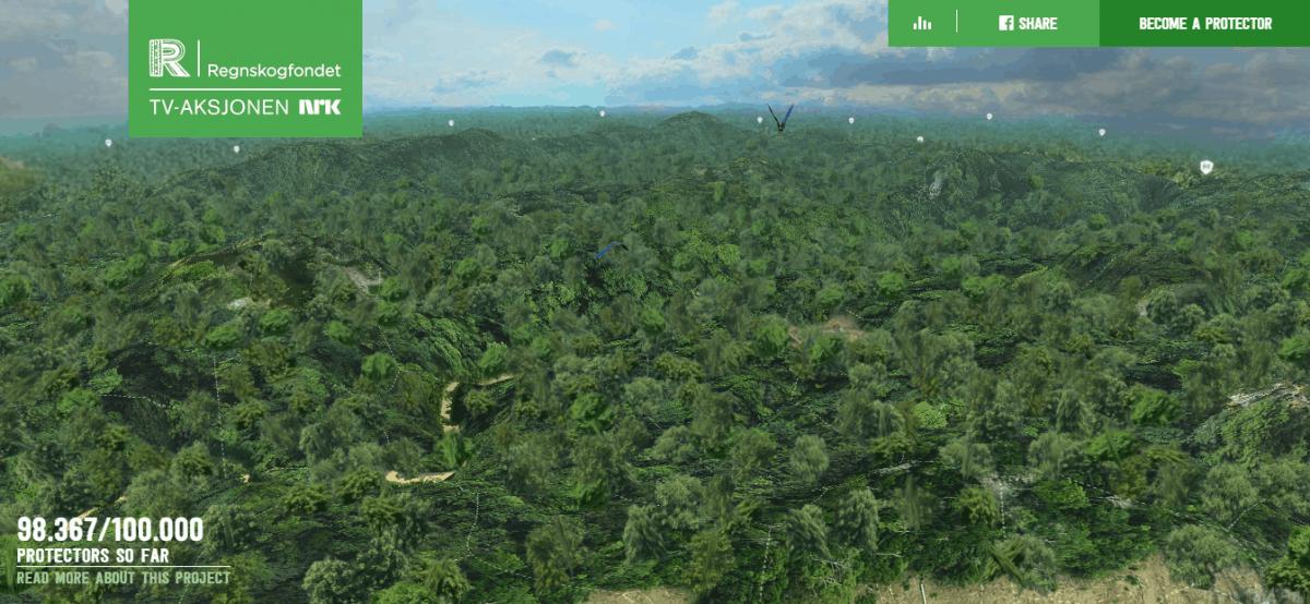 rainforest guardians website