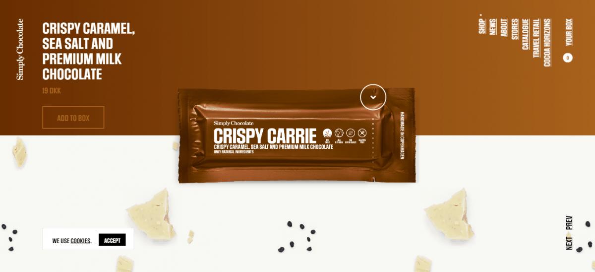 simply chocolate website