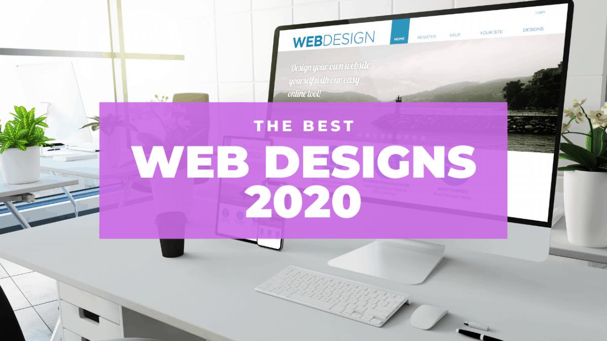 the best web designs 2020