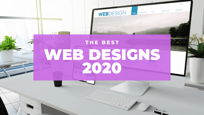 the best web designs 2020