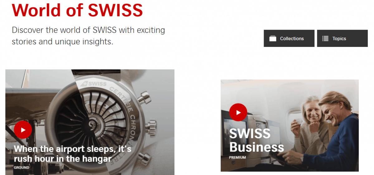 world of swiss website
