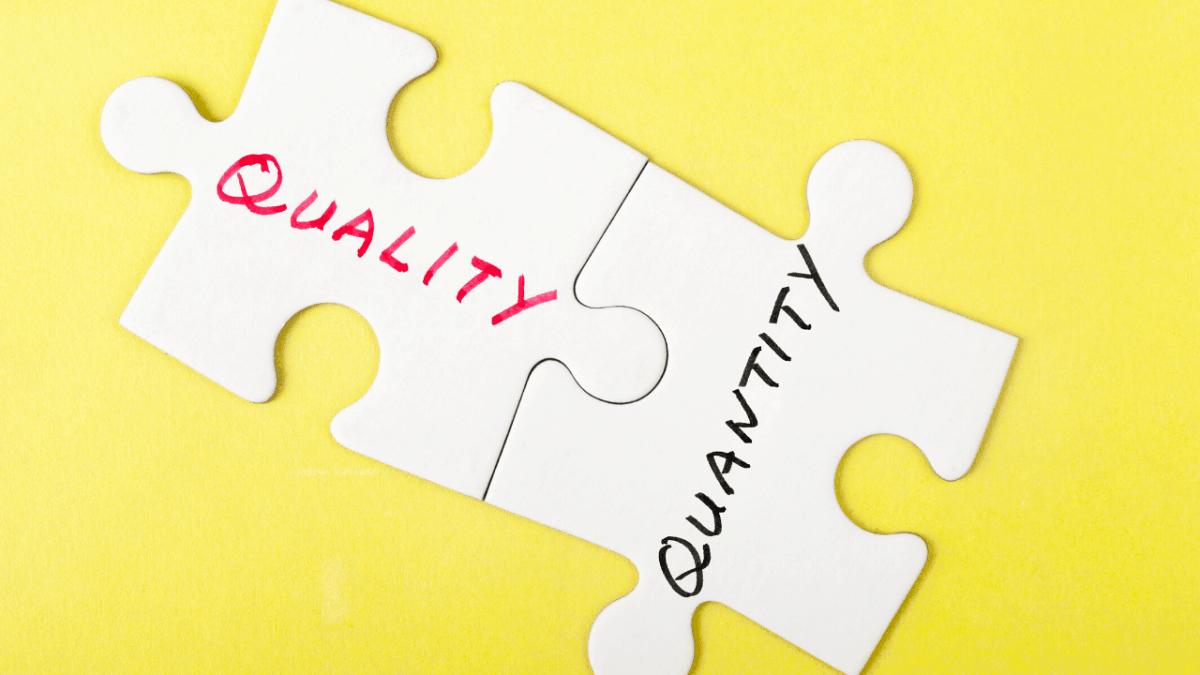 quality or quantity blogger outreach