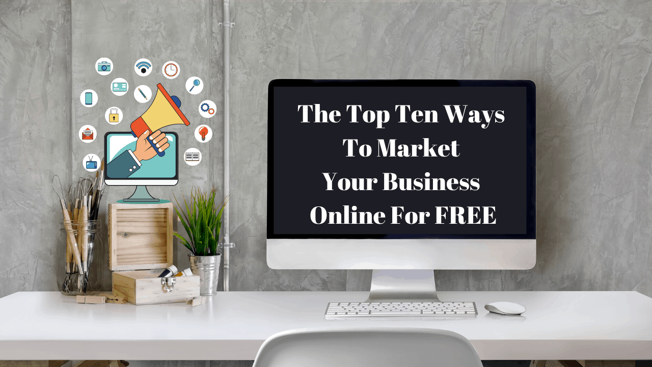market your business online for free