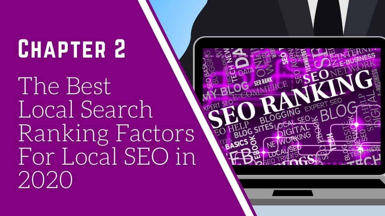 the best local seo ranking factors 2020
