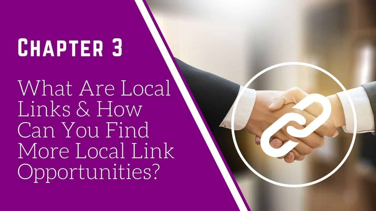 what are local links and how can you find them