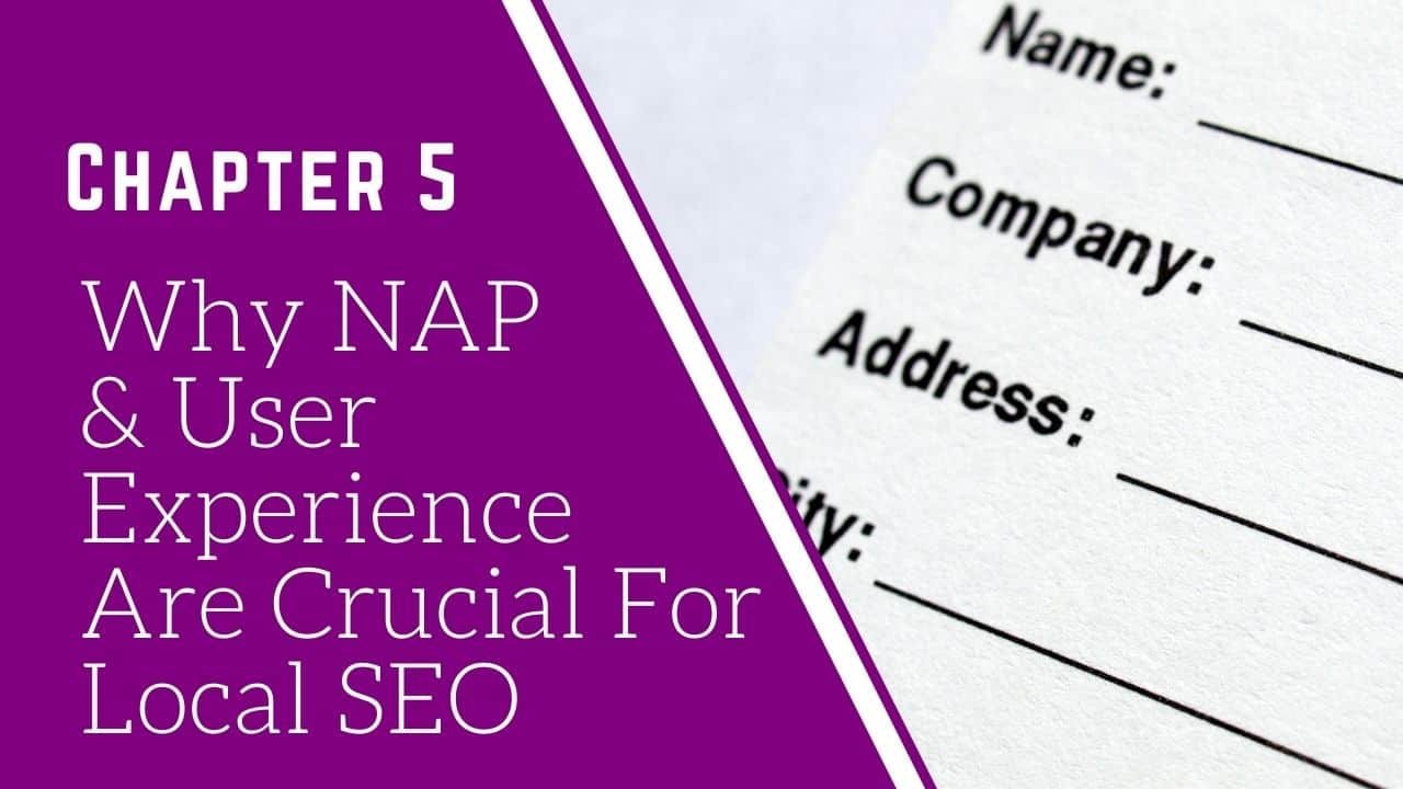 what does NAP stand for - local SEO