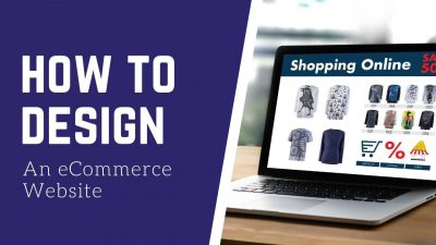design an ecommerce site