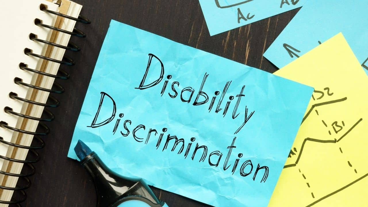 dont discriminate against people with disabilities