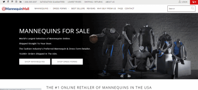 Ecommerce business ideas | Mannequins
