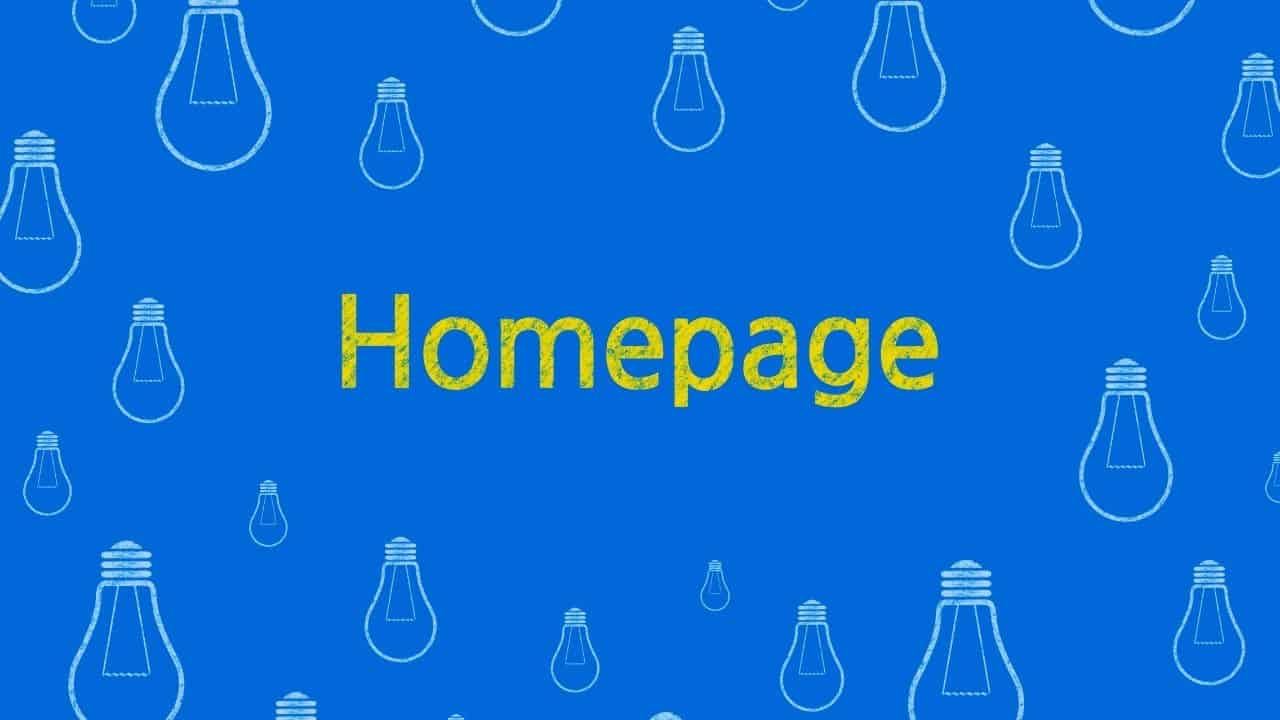 homepage design trends 2021