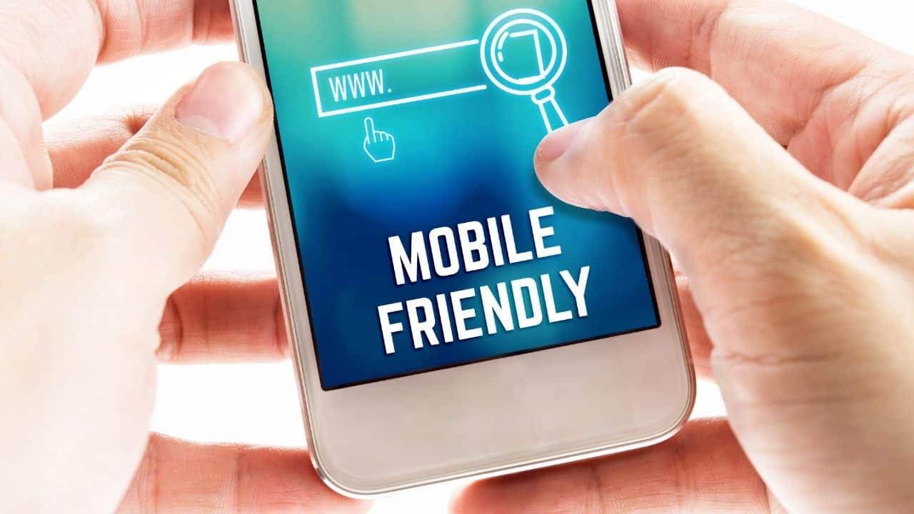 mobile friendly ecommerce website design